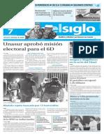 Edicion Impresa El Siglo 07-11-15