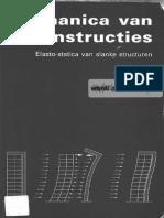 Mechanica Van Constructies Elasto-statica Van Slanke Structuren