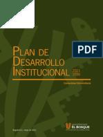 Plan Desarrollo Institucional Universidad El Bosque