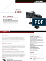 901™ Floor Standing Direct Reflecting™ Speaker System_Brochure