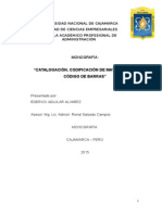 Catalogación de Materiales Logistica