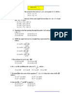 SRMJEEE Sample Paper 7 (Model Paper Maths 2)