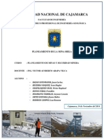 Planeamiento de La Mina Shila - Final