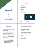 Indexación y Asociación