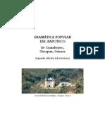 Gramatica Popular Del Zapoteco