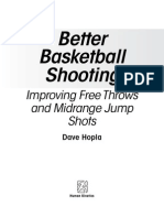 Better Basketball Shooting