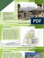 Analisis de Parque Biblioteca