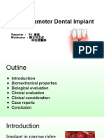 1040521 康磊 Narrow Diameter Dental Implants