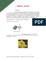 Mineral Azufre