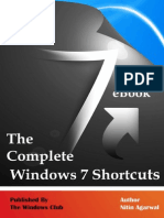 The Complete Windows 7 Sortcuts