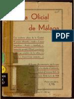 Guía Oficial de Málaga 1938