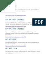 API Manuales