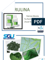 SPIRULINA Biochem Presentation