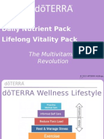 Daily Nutrient and Lifelong Vitality Pack Science PowerPoint