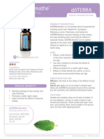 Breathe Respiratory Blend Product Information Page