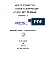 Final Project at GENPACT