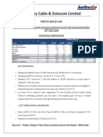 Result Press Release [Company Update]