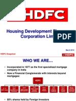 HDFC Profile of Company