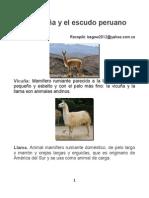 La Vicuña en la Heráldica Peruana. Autor Bernardo González White