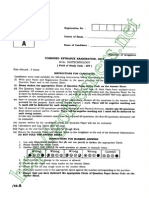 CBEE 2013 MSc Biotechnology-BIT Question Paper