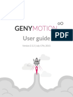 Genymotion 2.5.2 User Guide