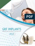 GRF Implant Katalog