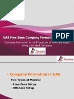UAE Free-Zone Company Formation Procedure