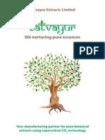Satvayur Corporate Profile Ebrochure
