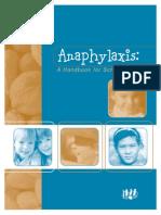 Anaphylaxis LBPSB