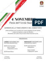 2 e 4 Novembre Programma anpscomo
