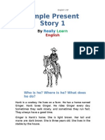 Simple Present Story 1