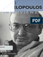 Theo Angelopolous Interviews