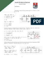 Corrección 1 ra Prueba Análisis de Circuitos Eléctricos 1