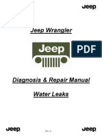 JK Water Leak Diagnose & Repair Manual