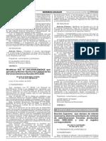 Decreto Supremo 006-2015-JUS