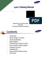 Manual Entrenamiento de Monitor Lcd Samsung Ls17halkbxbm
