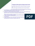 Keuntungan dan Kelemahan Penggunaan Mikroorganisme Sebagai Sumber Protein Sel Tunggal.docx