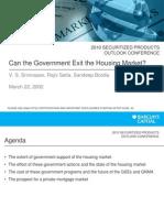 Govt Housing Market