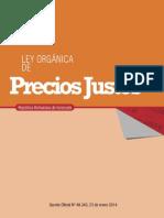 Ley Orgánica de Precios Justos - Notilogia