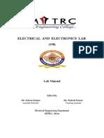 EEE Lab Front & Index