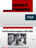 4 Generations of Digital Computing