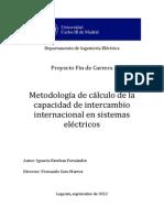 Sistema eléctrico -Capacidad de intercambio