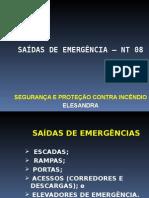 Apresentação Saída de Emergência