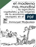 29919532 Wallerstein El Moderno Sistema Mundial