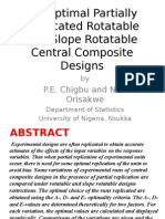 On Optimal Partially Replicated Rotatable and Slope Rotatable Central Composite Designs