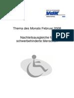 Nachteilsausgleiche Behinderung Ausweis