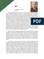 Biografía Venancio Pulgar