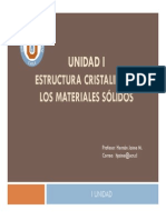 Cap i Estructura Cristalina