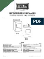 MAYTAG Secadora comercial a gas o eléctrica.pdf