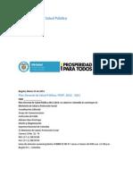 Plan Decenal - Documento en Consulta Para Aprobación(Autosaved)